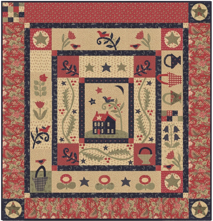 Mouse Creek Quilts - Block of the Month : quilt quilt quilt - Adamdwight.com